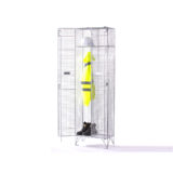 Single Compartment Mesh Locker