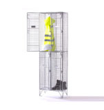 Two Compartment Mesh Locker