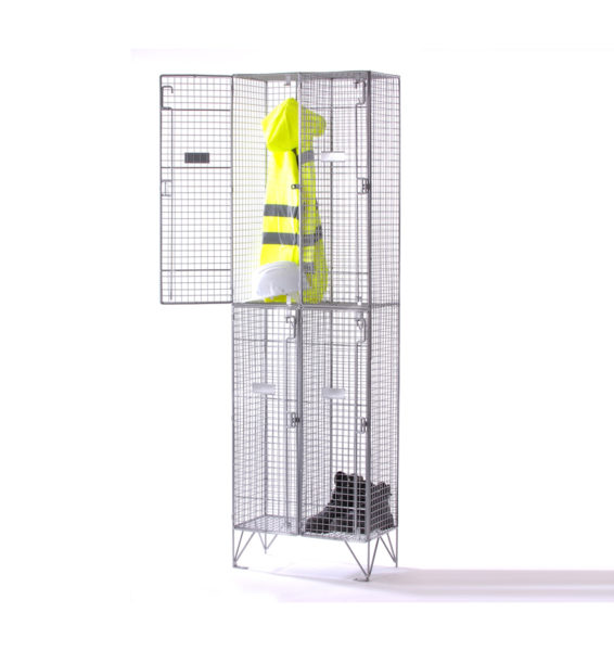 wire-mesh-lockers-2-compartment-nest